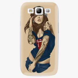 Plastový kryt iSaprio - Girl 03 - Samsung Galaxy S3 Pouzdra, kryty a obaly na mobil Samsung Galaxy S3