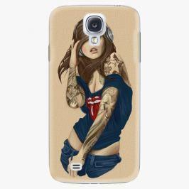 Plastový kryt iSaprio - Girl 03 - Samsung Galaxy S4 Pouzdra, kryty a obaly na mobil Samsung Galaxy S4