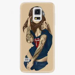 Plastový kryt iSaprio - Girl 03 - Samsung Galaxy S5 Mini Pouzdra, kryty a obaly na mobil Samsung Galaxy S5 mini