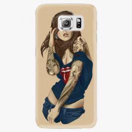 Plastový kryt iSaprio - Girl 03 - Samsung Galaxy S6 Edge Pouzdra, kryty a obaly na mobil Samsung Galaxy S6 Edge