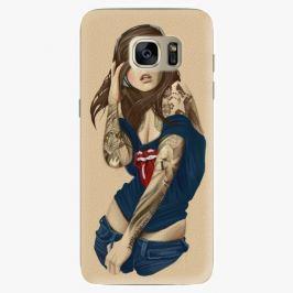 Plastový kryt iSaprio - Girl 03 - Samsung Galaxy S7 Edge Pouzdra, kryty a obaly na mobil Samsung Galaxy S7 Edge
