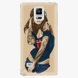 Plastový kryt iSaprio - Girl 03 - Samsung Galaxy Note 4 Pouzdra, kryty a obaly na mobil Samsung Galaxy Note 4
