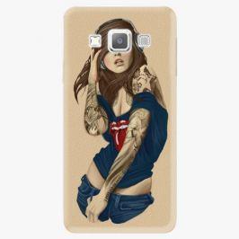 Plastový kryt iSaprio - Girl 03 - Samsung Galaxy A7 Pouzdra, kryty a obaly na mobil Samsung Galaxy A7