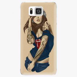 Plastový kryt iSaprio - Girl 03 - Samsung Galaxy Alpha Pouzdra, kryty a obaly na mobil Samsung Galaxy Alpha