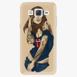 Plastový kryt iSaprio - Girl 03 - Samsung Galaxy Core Prime Pouzdra, kryty a obaly na mobil Samsung Galaxy Core Prime