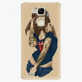 Plastový kryt iSaprio - Girl 03 - Huawei Mate7 Pouzdra, obaly a kryty na mobilní telefon Huawei Ascend Mate7