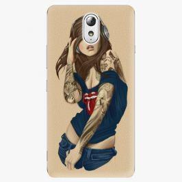 Plastový kryt iSaprio - Girl 03 - Lenovo P1m Pouzdra, obaly a kryty na mobilní telefon Lenovo P1m