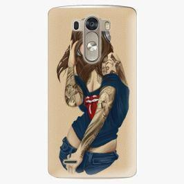 Plastový kryt iSaprio - Girl 03 - LG G3 (D855) Pouzdra, obaly a kryty na mobilní telefony LG G3 (D855)