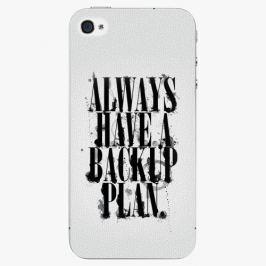 Plastový kryt iSaprio - Backup Plan - iPhone 4/4S Pouzdra, kryty a obaly na mobil Apple iPhone 4/4S
