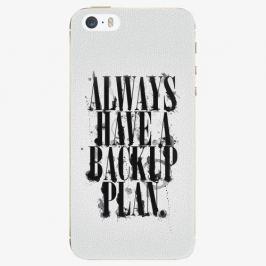 Plastový kryt iSaprio - Backup Plan - iPhone 5/5S/SE Pouzdra, kryty a obaly na mobil Apple iPhone 5/5S/SE