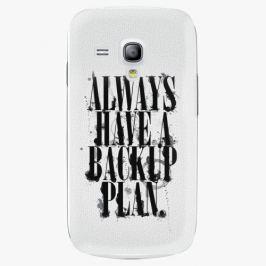 Plastový kryt iSaprio - Backup Plan - Samsung Galaxy S3 Mini Pouzdra, kryty a obaly na mobil Samsung Galaxy S3 mini