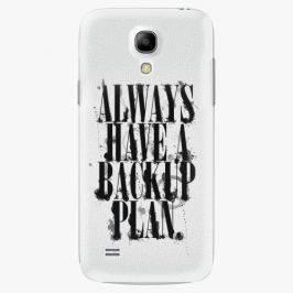 Plastový kryt iSaprio - Backup Plan - Samsung Galaxy S4 Mini Pouzdra, kryty a obaly na mobil Samsung Galaxy S4 mini