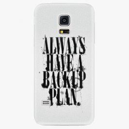 Plastový kryt iSaprio - Backup Plan - Samsung Galaxy S5 Mini Pouzdra, kryty a obaly na mobil Samsung Galaxy S5 mini