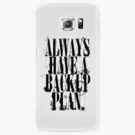 Plastový kryt iSaprio - Backup Plan - Samsung Galaxy S6 Edge Plus Pouzdra, kryty a obaly na mobil Samsung Galaxy S6 Edge Plus