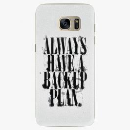 Plastový kryt iSaprio - Backup Plan - Samsung Galaxy S7 Edge