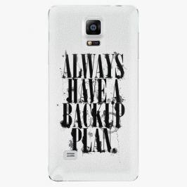 Plastový kryt iSaprio - Backup Plan - Samsung Galaxy Note 4 Pouzdra, kryty a obaly na mobil Samsung Galaxy Note 4