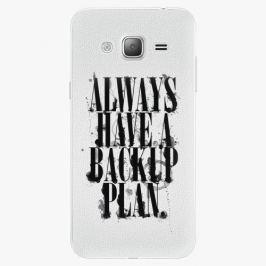Plastový kryt iSaprio - Backup Plan - Samsung Galaxy J3 2016 Pouzdra, kryty a obaly na mobil Samsung Galaxy J3 2016