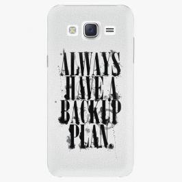 Plastový kryt iSaprio - Backup Plan - Samsung Galaxy J5 Pouzdra, kryty a obaly na mobil Samsung Galaxy J5