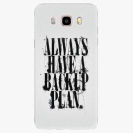 Plastový kryt iSaprio - Backup Plan - Samsung Galaxy J5 2016 Pouzdra, kryty a obaly na mobil Samsung Galaxy J5 2016