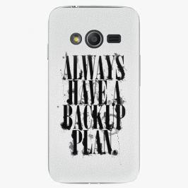 Plastový kryt iSaprio - Backup Plan - Samsung Galaxy Trend 2 Lite Pouzdra, kryty a obaly na mobil Samsung Galaxy Trend 2 Lite
