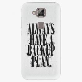 Plastový kryt iSaprio - Backup Plan - Huawei Ascend G8