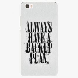 Plastový kryt iSaprio - Backup Plan - Huawei Ascend P8 Lite
