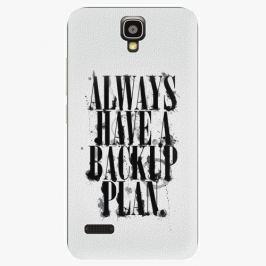Plastový kryt iSaprio - Backup Plan - Huawei Ascend Y5 Pouzdra, obaly a kryty na mobilní telefon Huawei Ascend Y5