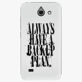 Plastový kryt iSaprio - Backup Plan - Huawei Ascend Y550 Pouzdra, obaly a kryty na mobilní telefon Huawei Ascend Y550