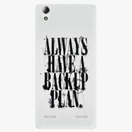 Plastový kryt iSaprio - Backup Plan - Lenovo A6000 / K3
