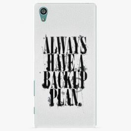 Plastový kryt iSaprio - Backup Plan - Sony Xperia Z5 Pouzdra, obaly a kryty na mobilní telefon Sony Xperia Z5