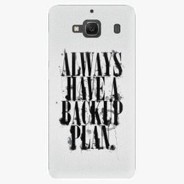 Plastový kryt iSaprio - Backup Plan - Xiaomi Redmi 2 Pouzdra, obaly a kryty na mobilní telefon Xiaomi Redmi 2