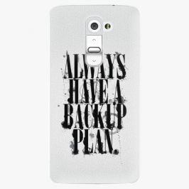 Plastový kryt iSaprio - Backup Plan - LG G2 (D802B) Pouzdra, obaly a kryty na mobilní telefony LG G2 (D802B)