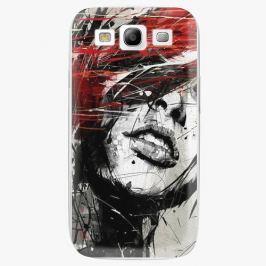 Plastový kryt iSaprio - Sketch Face - Samsung Galaxy S3 Pouzdra, kryty a obaly na mobil Samsung Galaxy S3
