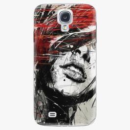 Plastový kryt iSaprio - Sketch Face - Samsung Galaxy S4 Pouzdra, kryty a obaly na mobil Samsung Galaxy S4