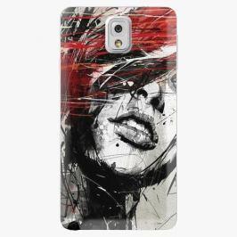 Plastový kryt iSaprio - Sketch Face - Samsung Galaxy Note 3 Pouzdra, kryty a obaly na mobil Samsung Galaxy Note 3