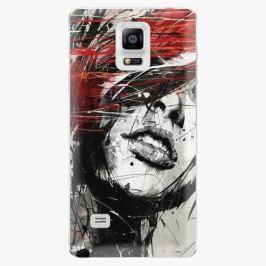 Plastový kryt iSaprio - Sketch Face - Samsung Galaxy Note 4 Pouzdra, kryty a obaly na mobil Samsung Galaxy Note 4