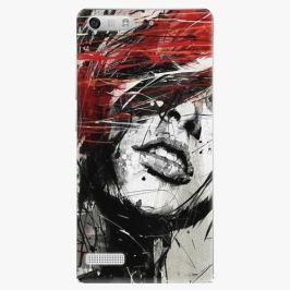 Plastový kryt iSaprio - Sketch Face - Huawei Ascend G6 Pouzdra, obaly a kryty na mobilní telefon Huawei Ascend G6