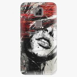 Plastový kryt iSaprio - Sketch Face - Huawei Ascend G8 Pouzdra, obaly a kryty na mobilní telefon Huawei Ascend G8