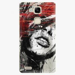Plastový kryt iSaprio - Sketch Face - Huawei Mate7 Pouzdra, obaly a kryty na mobilní telefon Huawei Ascend Mate7