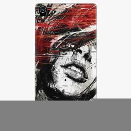 Plastový kryt iSaprio - Sketch Face - Huawei Ascend P7 Pouzdra, obaly a kryty na mobilní telefon Huawei Ascend P7