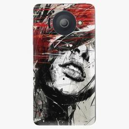 Plastový kryt iSaprio - Sketch Face - Huawei Ascend Y300 Pouzdra, obaly a kryty na mobilní telefon Huawei Ascend Y300