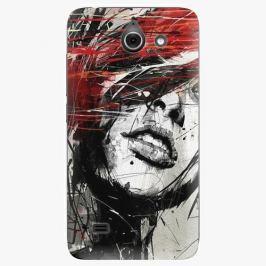 Plastový kryt iSaprio - Sketch Face - Huawei Ascend Y550 Pouzdra, obaly a kryty na mobilní telefon Huawei Ascend Y550