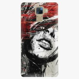 Plastový kryt iSaprio - Sketch Face - Huawei Honor 7 Pouzdra, obaly a kryty na mobilní telefon Huawei Honor 7