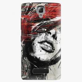 Plastový kryt iSaprio - Sketch Face - Lenovo A2010 Pouzdra, obaly a kryty na mobilní telefon Lenovo A2010