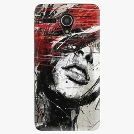 Plastový kryt iSaprio - Sketch Face - Lenovo A606 Pouzdra, obaly a kryty na mobilní telefon Lenovo A606