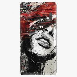 Plastový kryt iSaprio - Sketch Face - Lenovo A7000 Pouzdra, obaly a kryty na mobilní telefon Lenovo A7000