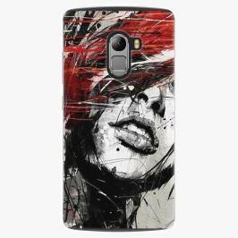Plastový kryt iSaprio - Sketch Face - Lenovo A7010 Pouzdra, obaly a kryty na mobilní telefon Lenovo A7010