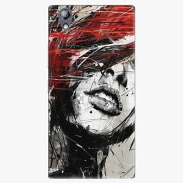 Plastový kryt iSaprio - Sketch Face - Lenovo P70 Pouzdra, obaly a kryty na mobilní telefon Lenovo P70