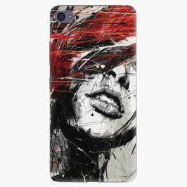 Plastový kryt iSaprio - Sketch Face - Lenovo S90 Pouzdra, obaly a kryty na mobilní telefon Lenovo S90