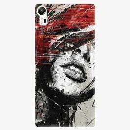 Plastový kryt iSaprio - Sketch Face - Lenovo Vibe Shot Pouzdra, obaly a kryty na mobilní telefon Lenovo Vibe Shot Z90